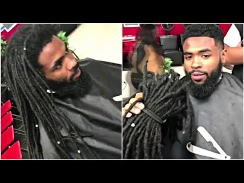 Dreadlocks To Short Hair Transformation #2 | Cut By Cali The Barber | Afro Haircut