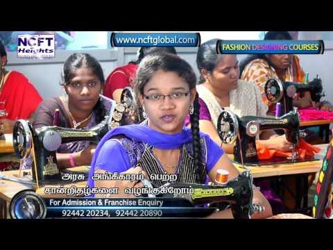 Best Fashion Designing Institute in Tamilnadu