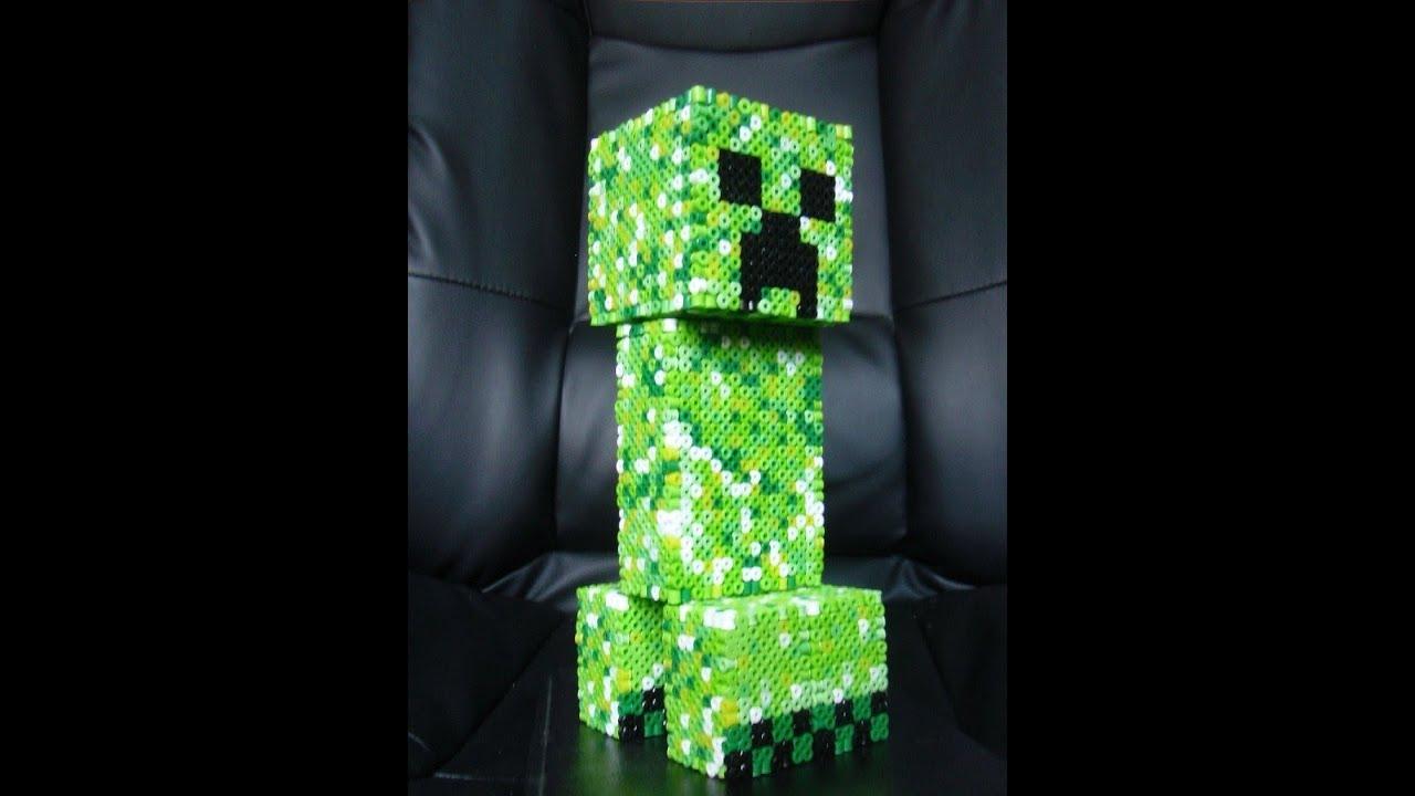 San Valentin/ Tutorial Hacer Peluche Creeper De Minecraft