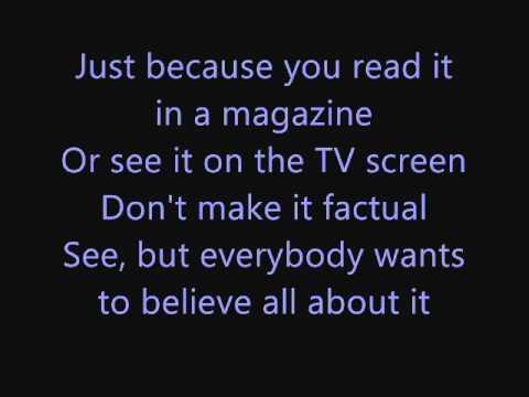 Michael Jackson - Tabloid Junkie Lyrics