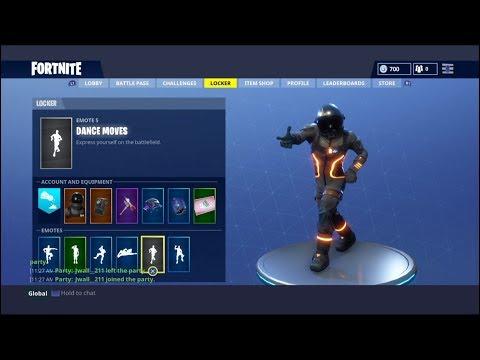 1 Hour of the Fortnite Default Dance