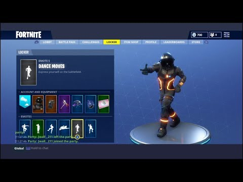 1 Hour of the Fortnite Default Dance