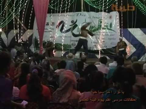 قناه طيبة القناة الثامنة حفلة البيئة مرسى علم 2012 ولقاء جو عن المدينة