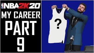 "NBA 2K20 - My Career - Let's Play - Part 9 - ""The NBA Draft""   DanQ8000"