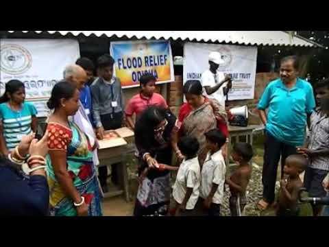 INDIAN RURAL WELFARE TRUST ORGANISED FLOOD RELIEF