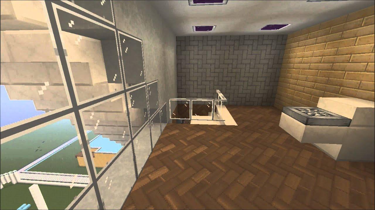 Minecraft Modern Apartment Interior Timelapse - Episode 2 ...