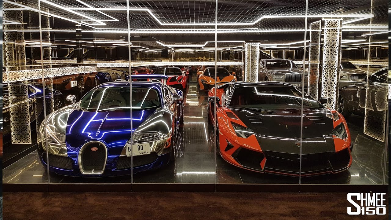 I Want This Dubai Supercar Garage Youtube
