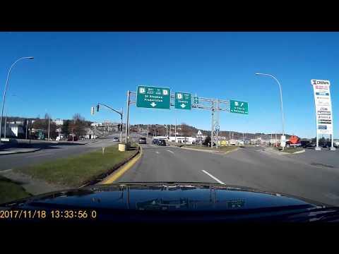 Cruising around Saint John New Brunswick Canada