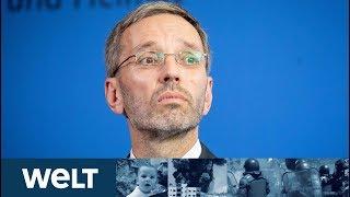 NACH STRACHE-VIDEO: FPÖ-Innenminister Herbert Kickl gibt Presseerklärung ab