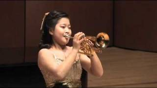 Aranjuez Concerto 2nd Mov for trumpet - Korean girl trumpete...
