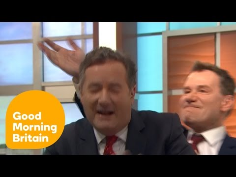 Piers Morgan Gets SLAPPED By Richard Arnold | Good Morning Britain