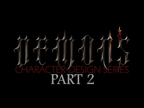 DEMONS – Character Design Concept Art Tutorial – Part 2