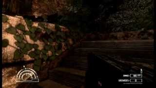 Alien vs Predator (2010, PC) Scope Rifle and Flamethrower action in the Jungle
