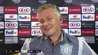 Ole Gunnar Solskjaer confirms Alexis Sanchez Man Utd exit | Man Utd 2-1 LASK