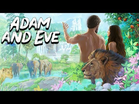 Adam And Eve In The Garden Of Eden (The Forbidden Fruit) Bible Stories - See U In History