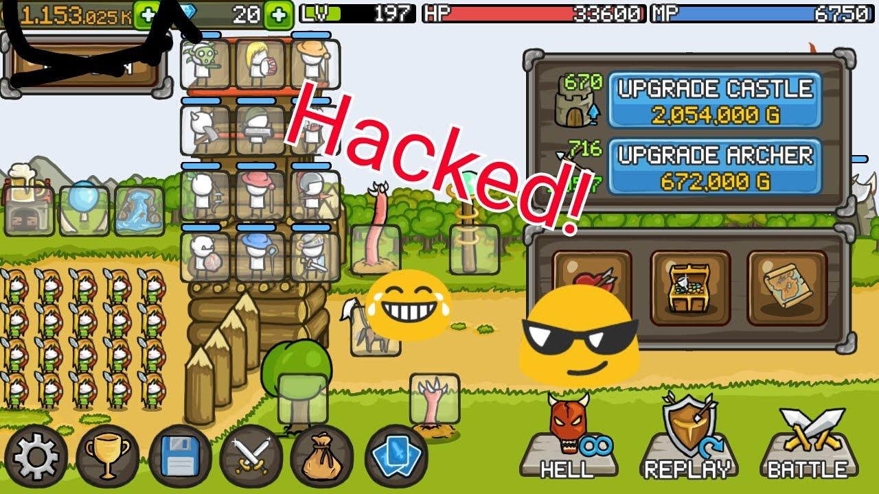 grow castle hack root