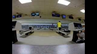 Seismic Bowling - Bowl Florida tournament in Tavares, FL - Pure Evil Pattern