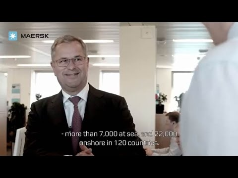 "The Values to me: CEO of Maersk Line, Søren Skou, on ""Our Em"