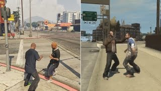 GTA 4 IS 100% BETTER THAN GTA 5! (side by side PROOF)