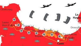 Le débarquement de Normandie expliqué en deux minutes chrono