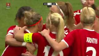 Відбір ЧС-2019. Жінки. Данія - Україна - 1:0. Highlights