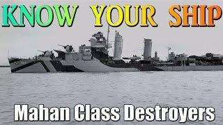 Know Your Ship #51 - Mahan Class Destroyer - USS Lamson | Send a vet a card
