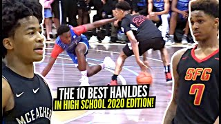 The 10 BEST Ankle Breakers & Ball HANDLERS In High School 2020 Edition! Sharife, Dior, Zion & More