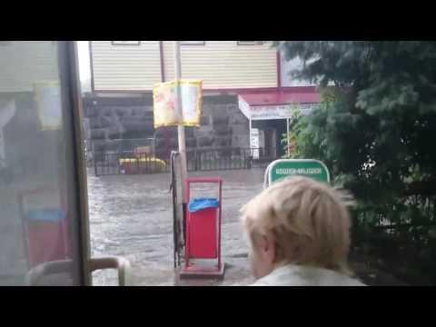 Потоп на нижнем рынке,Ставрополь 22.06.2017