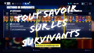 Everything you need to know about survivors [Fortnite Save the World]