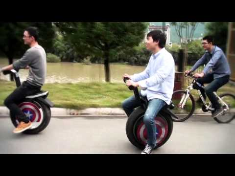 Uno-One-Wheeled-Motorcycle The Incredible One Wheel Electric Scooter By Ryno Motors