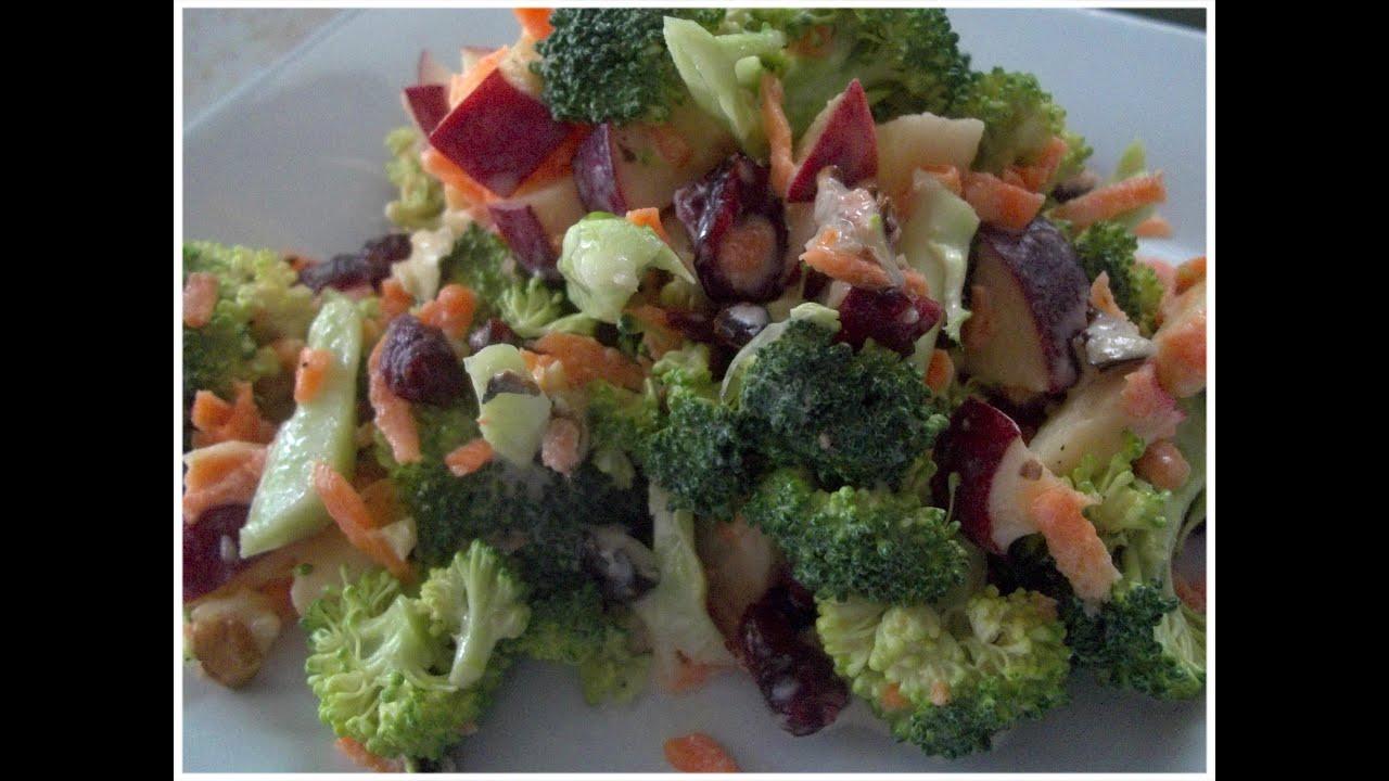 Ensalada de brocoli y manzana simplemente deliciosa - Ensalada de apio y zanahoria ...