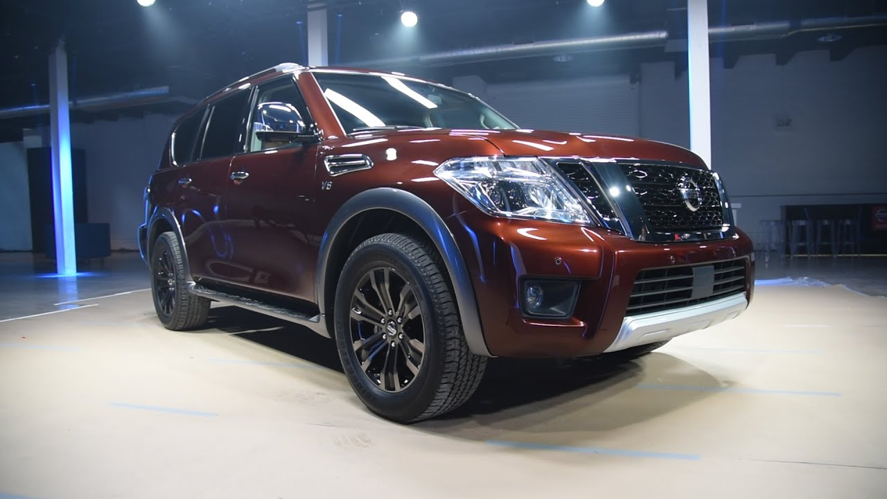 Nissan Armada Towing Capacity >> 2017 Nissan Armada Unveiled With 8 500 Pound Towing Capacity