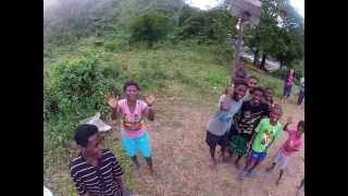 Buyag, Penablanca, Cagayan, Philippines - Home of the native tribe Aetas of Sierra Madre