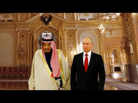 Saudi king signs trade deals during landmark visit to Moscow