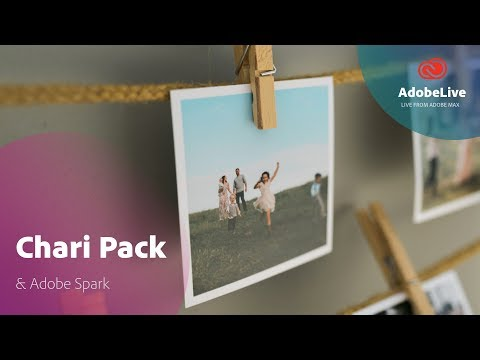 Live with Chari Pack working with Spark | Adobe MAX 2017