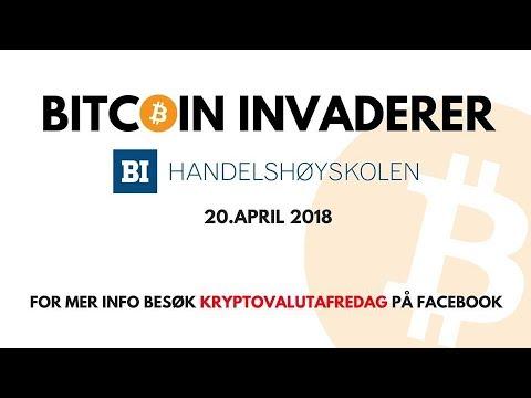 Kryptovalutafredag - Bitcoin Norge - BI Handelshøyskolen Oslo - Aftermovie