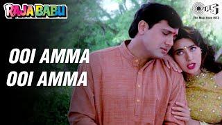 Uee Amma U Amma Kya Karta Hai - Raja Babu - Govinda, Karisma