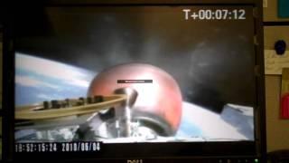 SpaceX Falcon 9 Orbital Insertion