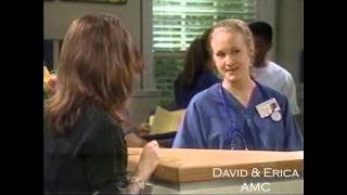 Myrtle Finds Out [David & Erica] August 11, 1999 All My Children