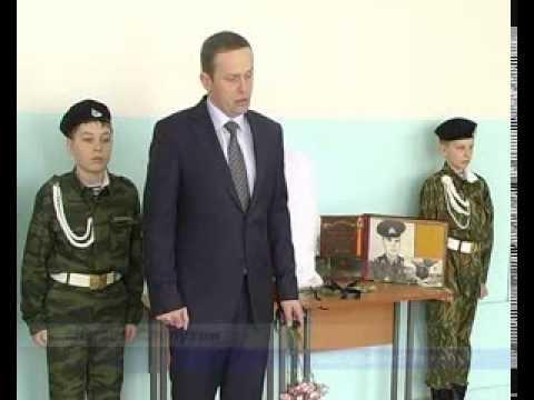 Установка мемориальных досок воинам, погибшим в Чеченской Республике