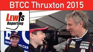Jason Plato - TeamBMR - BTCC Thruxton 2015