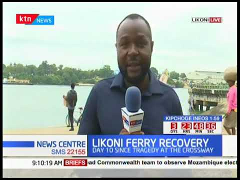 LIKONI FERRY TRAGEDY: South African Divers join the search for the two victims