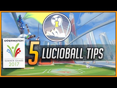 5 LUCIOBALL TIPS to help you climb | Overwatch Summer Games