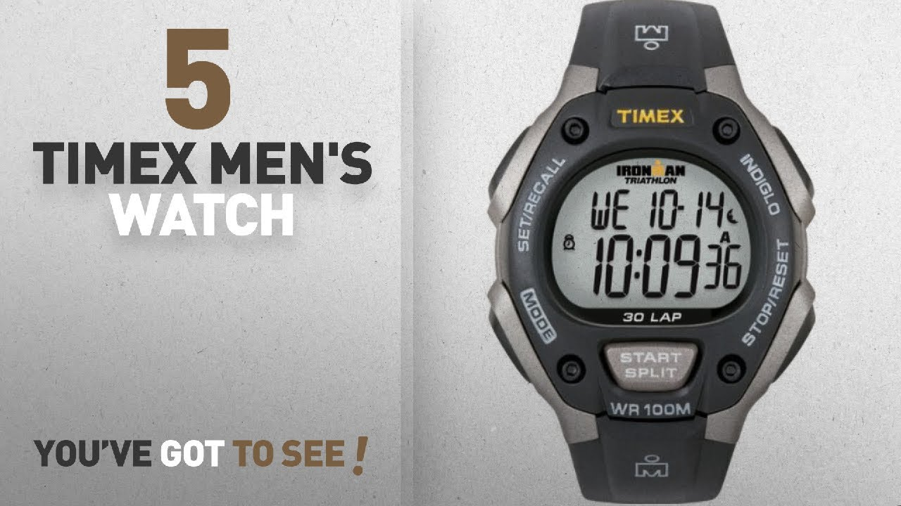 94961c076 timex men's t49905 expedition rugged field chronograph black/brown leather  strap watch