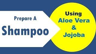 DIY Aloe Vera And Jojoba Shampoo At Home
