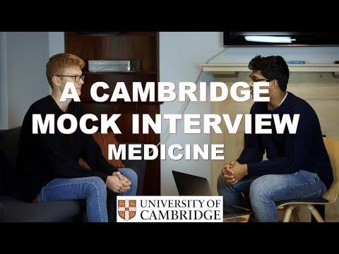 Cambridge Mock Interview for Medicine