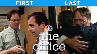 Cast Of The Office First Vs Last Season