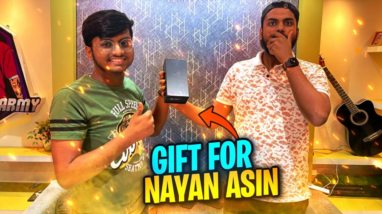 Download I GIFTED NEW GAMING PHONE TO NAYAN ASIN