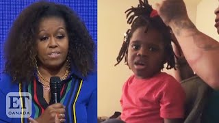 Michelle Obama Supports Girl After 'Ugly' Viral Video