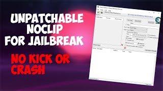 UNPATCHABLE NOCLIP FOR ROBLOX JAILBREAK NO KICK [PATCHED]